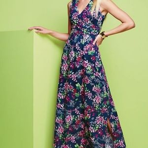 Lands end maxi dress floral